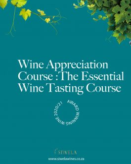 Wine Appreciation Course :The Essential  Wine Tasting Course
